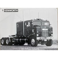 50s Bullnose Kenworth Sign