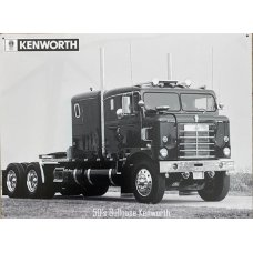 50s Bullnose Kenworth Sign