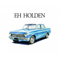 EH Holden Glass Plaque