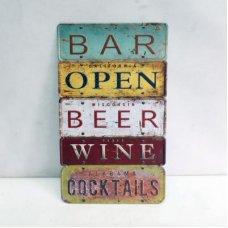 Bar Wall Plaque