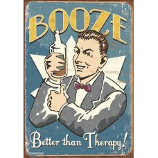 Booze Better than therapy