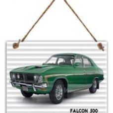 Falcon 500 Tin Sign