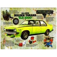 Holden Torana SLR5000 Tin Sign