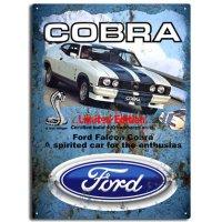 Ford Cobra Tin Sign