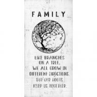 Family Large Wall Plaque