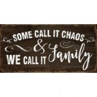 Family Chaos Wall Hanging