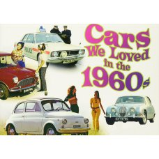 Cars we loved in the 60's tin sign