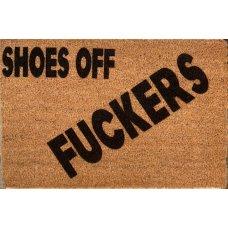 Shoes Off Coir Door Mat