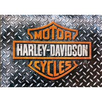 Harley Davidson Metal Plate Sign