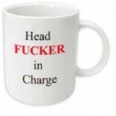 Head Fucker in Charge Mug