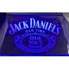 Jack Daniels LED Blue