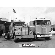 Kenworth Duo Tin Sign