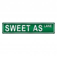 Sweet As Street Sign
