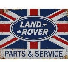 Landrover Parts & Service TIn Sign