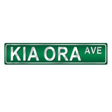 Kia Ora Road Sign