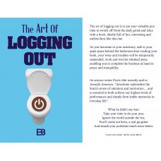 The Art of Logging out book