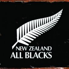 All Blacks Tin Sign