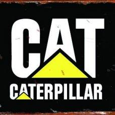 Caterpillar Tin Sign