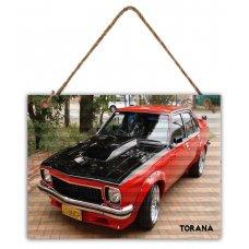 Torana Corrugated Tin Sign