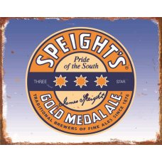 Speights Gold Medal Tin Sign