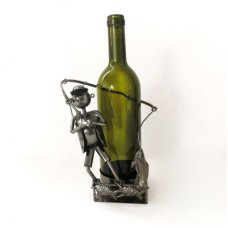 Wine Bottle Fishing Holder