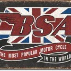 BSA Tin Sign