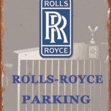 Rolls Royce Parking