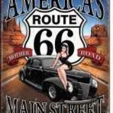 Americas Route 66 Tin Sign