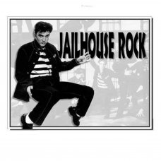 Jailhouse Rock Tin Sign