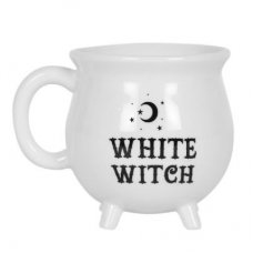 White Witch Couldron Mug