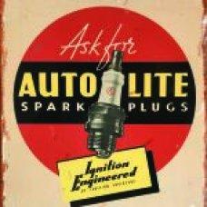 Autolite Spark Plugs Tin Sign