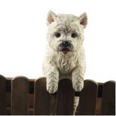 Westie Fence Animal