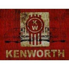 Kenworth Large Metal tin sign