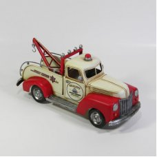 Tow Truck Red and Cream