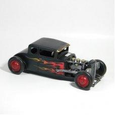 Black Coupe Hot Rod