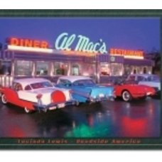 Al's Diner Tin Sign - Tin Signs