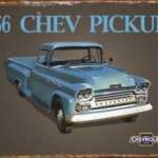 56 Chevy Pick Up - Tin Signs