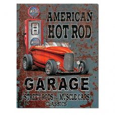 American Hot Rod Garage - Tin Signs