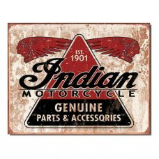 Indian Genuine Parts Sign - Tin Signs -