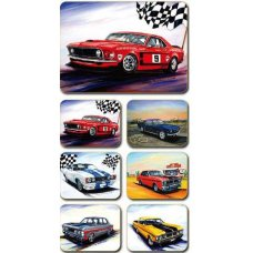 Ford Muscle Coasters