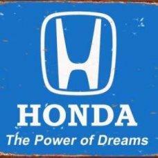 Honda Tin Sign