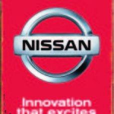 Nissan Tin Sign