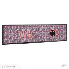 Pink Floral Bar Mat