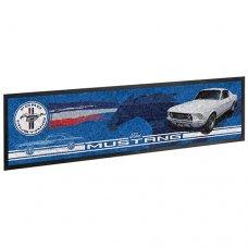 Ford Mustang Logo Bar Mat