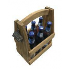 Six Bottle Carrier with Opener