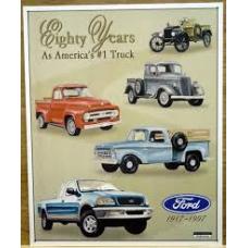 Ford Trucks 80yrs - TIN SIGNS