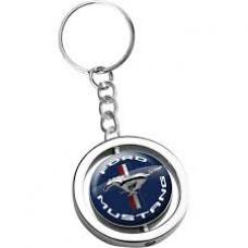 Ford Mustang Spinner Key Ring