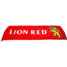 Lion Red Bar Towel