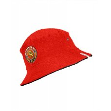 Lion Red Retro towelling Bucket Hat