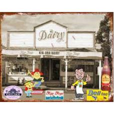 NZ Dairy Tin Signs - Tin Signs